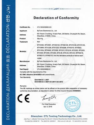 比尔德-EC认证