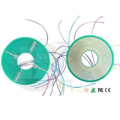 超薄PCB线路板集电环导电滑环