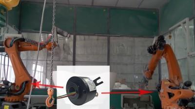 比尔德滑环神助攻全自动打磨机器人-复工复产效率提升10倍