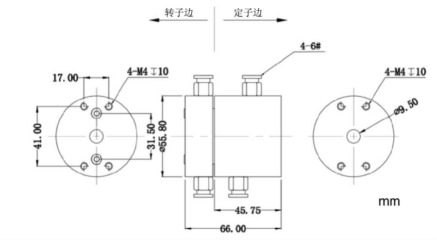 气液电混合滑环