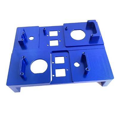 蓝色氧化铝CNC加工零件