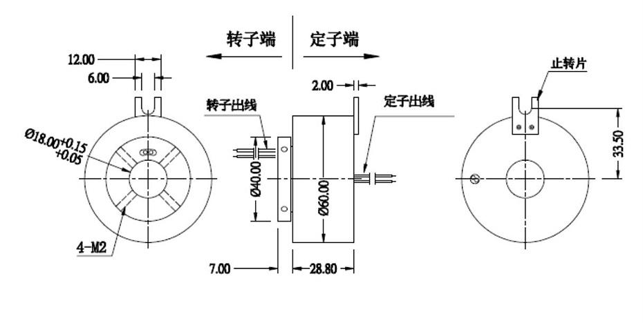 BTH2060-0210过孔滑环图纸