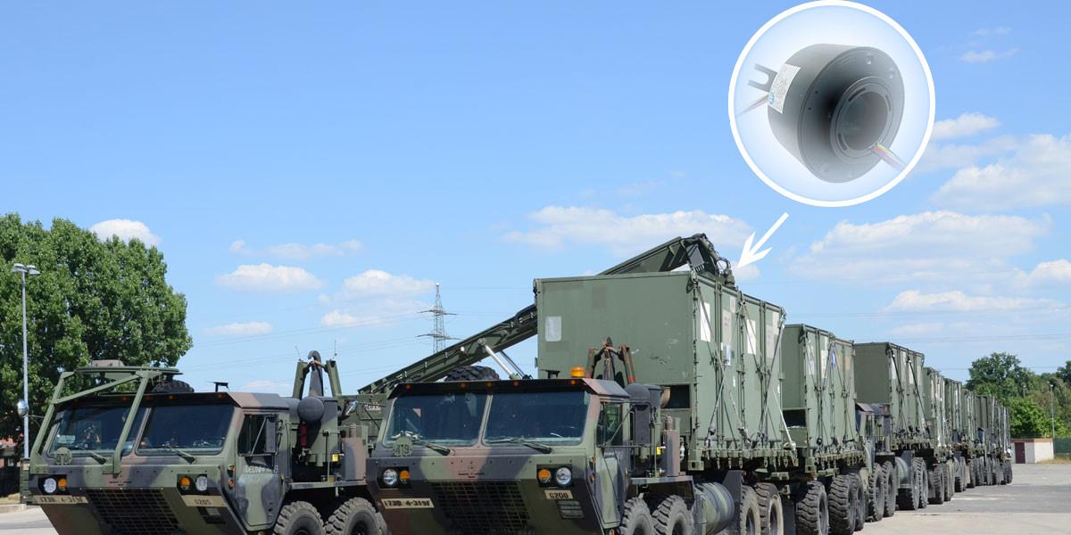 军工设备导电滑环应用解决方案