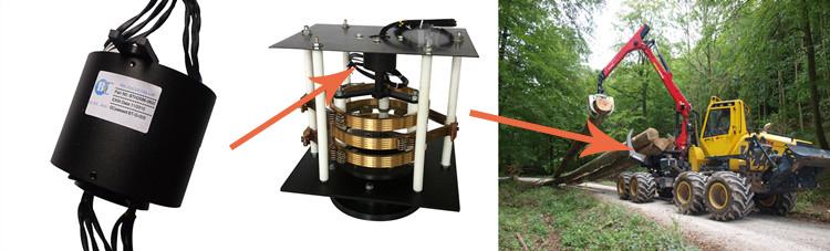 重型设备工业滑环