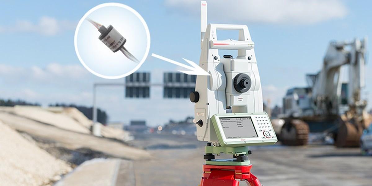 过孔导电滑环在检测设备中的应用解决方案