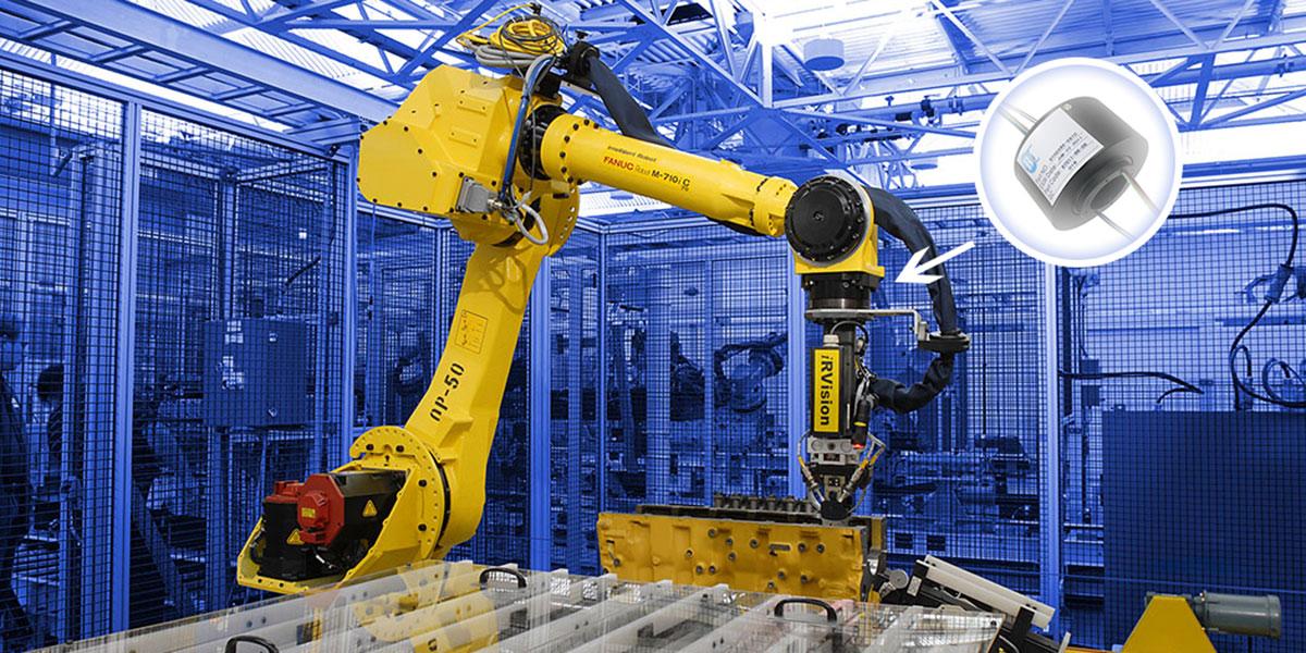工业机器人滑环应用解决方案