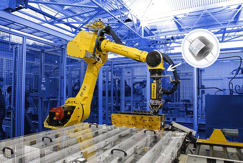工业机器人滑环
