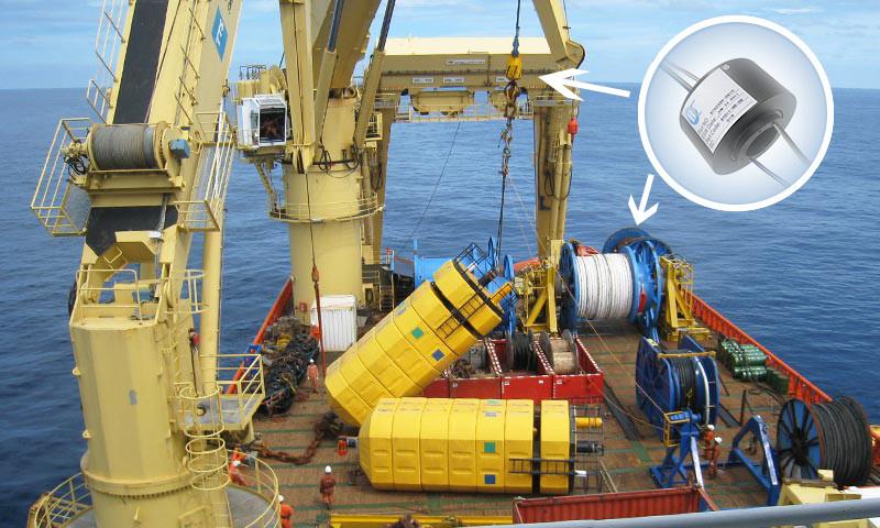 海工设备滑环应用解决方案