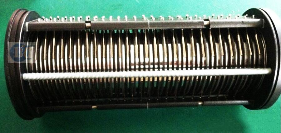 多路数电流滑环兼容气体传输