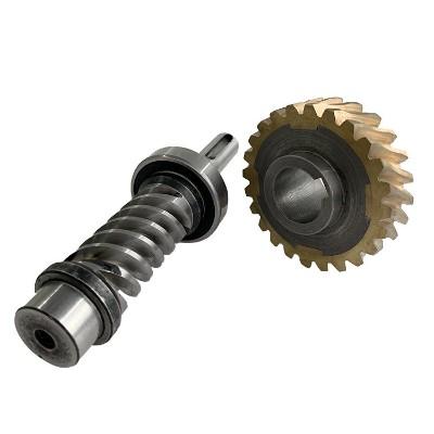 铝/铜/碳素钢/不锈钢涡轮蜗杆加工件