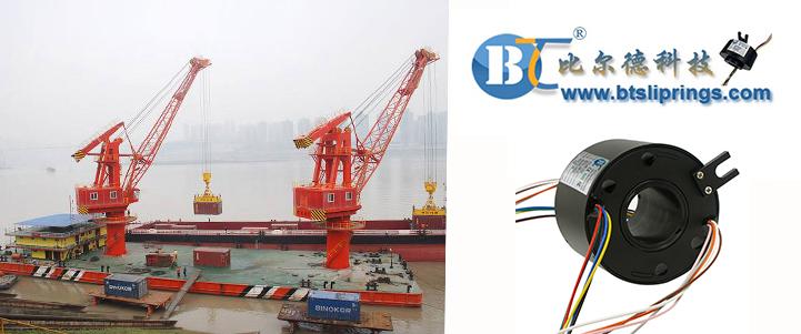 港口起重机集电环导电滑环