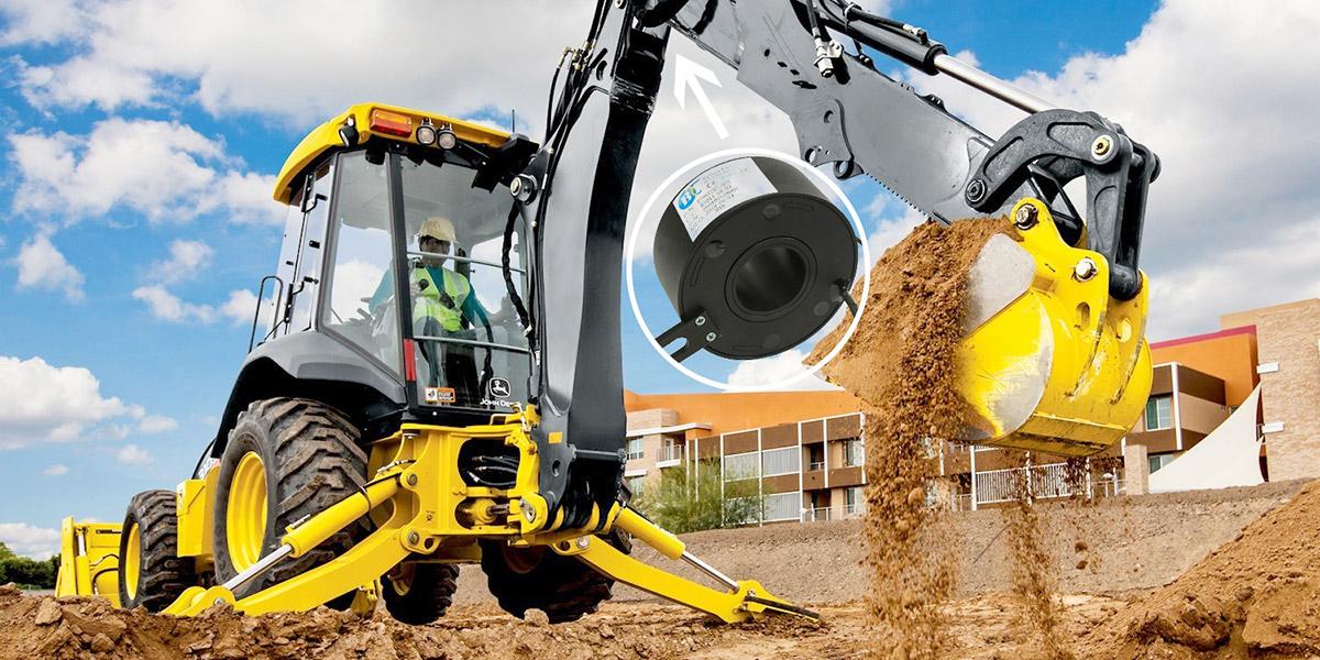 工程机械挖掘机滑环解决方案
