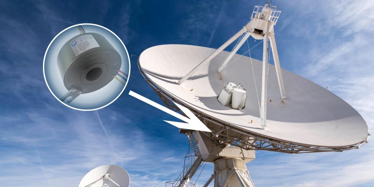 雷达滑环在天线雷达应用中的解决方案