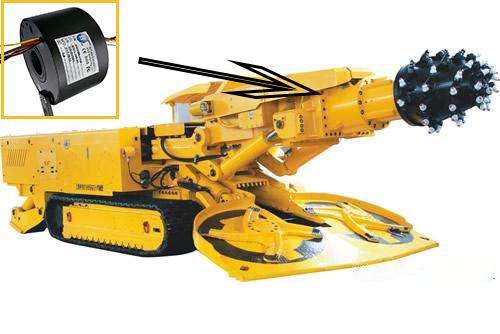 悬臂式掘进机高防护等级定制滑环