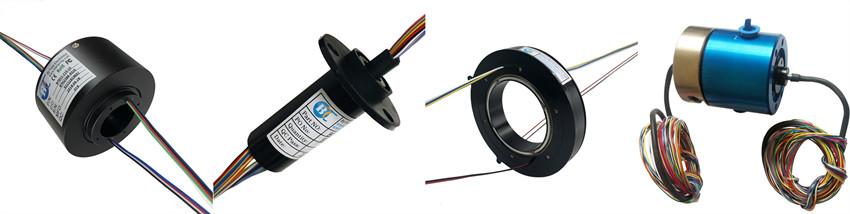 金对金接触分离式电刷环