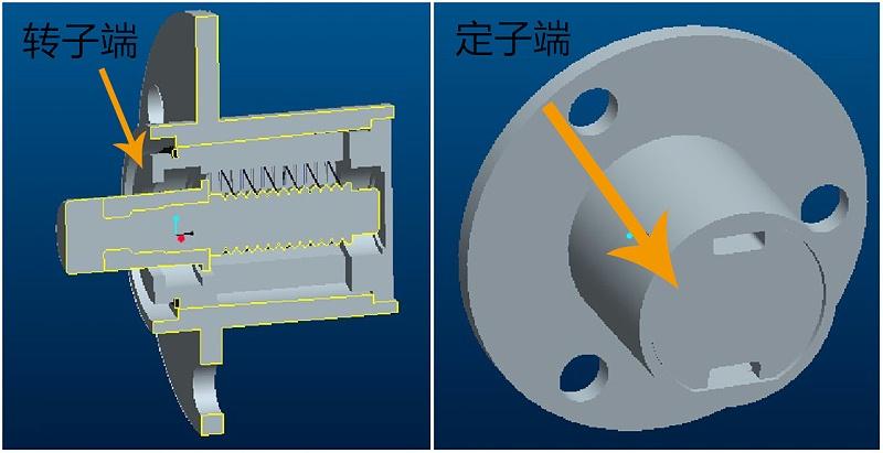 帽式导电滑环结构