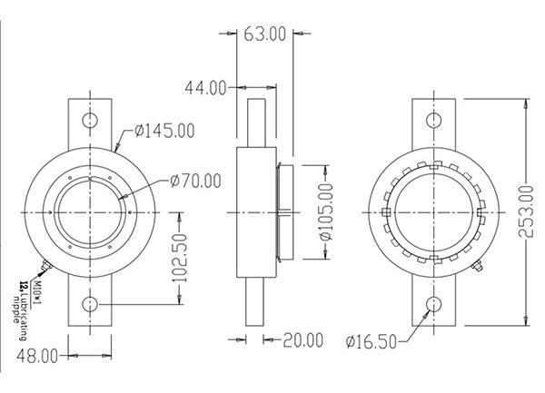 2000A 大电流非标定制焊接机接地钳